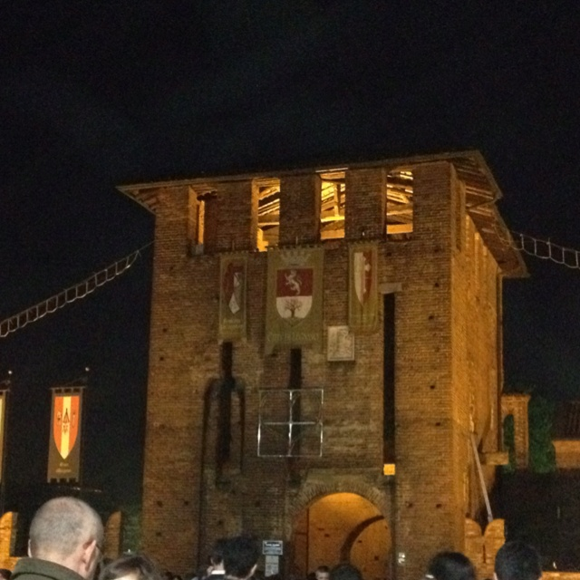 Legnano - castello in festa