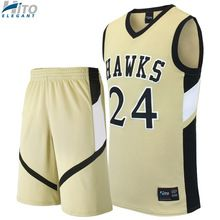Basketball Uniform Set, Hito Elegant High Quality Custom Sportswear HE-BB-1022