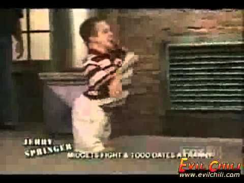 Midget Fight on Jerry Springer