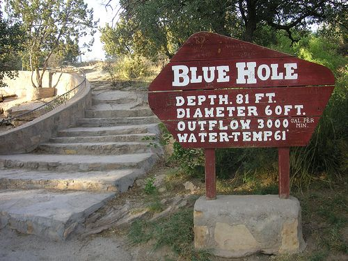 Blue Hole. Santa Rosa, New Mexico