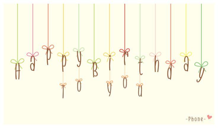 Happy Birthday <3