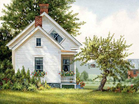 Spring Flowers - John Sloane