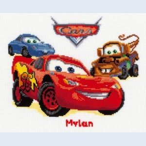 Cars Cross Stitch