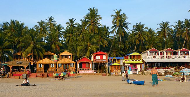 It's high season here in the laid-back, popular tourist destination that is Goa, India. And despite the fact that most locals I've met have told me that this is the slowest high season they've seen...