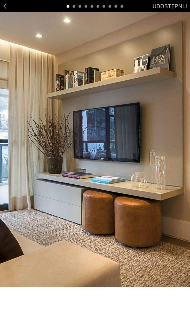 Les 175 Meilleures Images Du Tableau Salon Sur Pinterest D Co  # Meuble Tv Avec Bras Articule