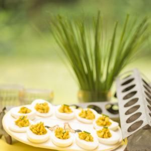 Gevulde eieren van Rineke Dijkinga