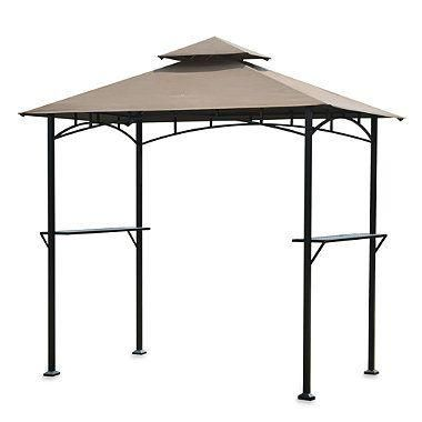 Enjoy Cooking Outdoors Under The Cool Shade With Sunjoy Argon Grill Gazebo This Convenient