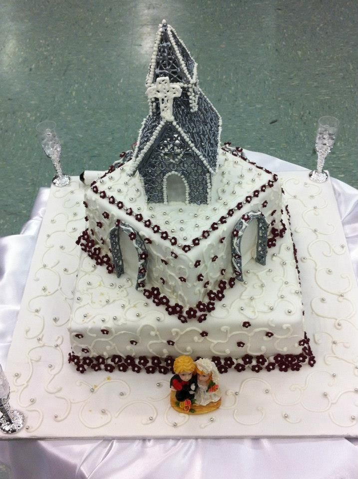 Church Cake Topper D