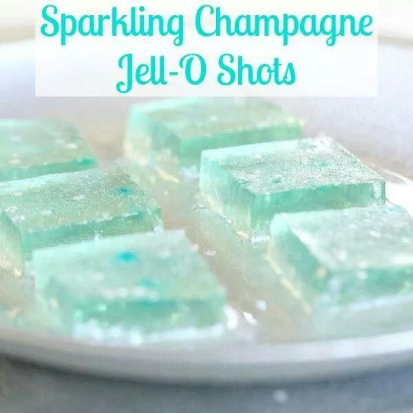 Champagne hello shots