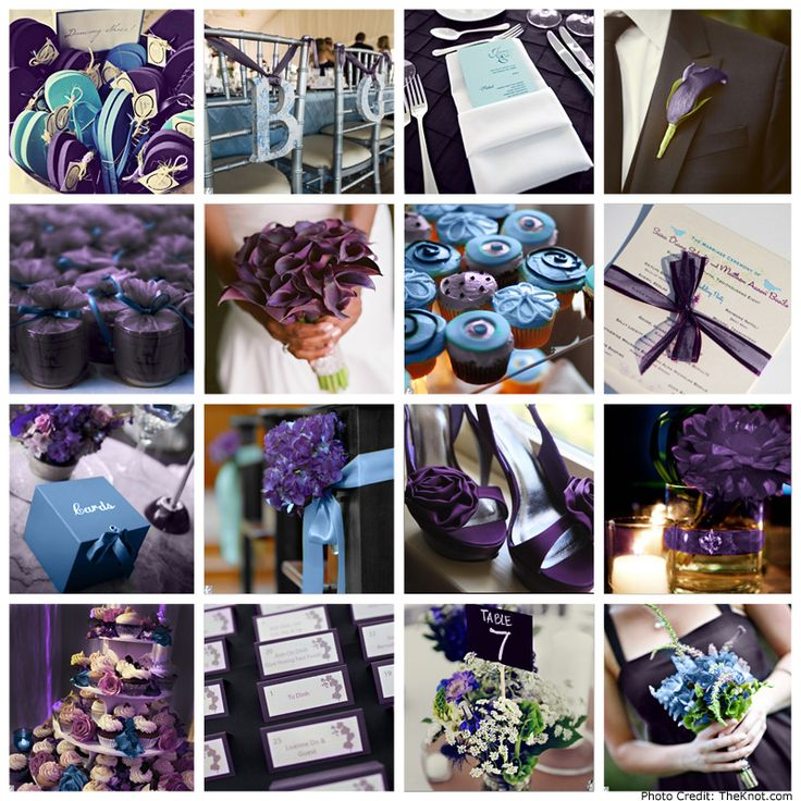 Some Cute Purple And Blue Wedding Ideas. Make It Teal, And Itu0027d Be Perfect!