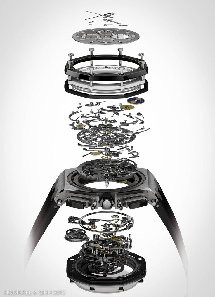 AP Royal Oak Offshore Grand Comp exploded view