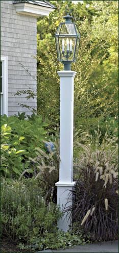how to build lamp post sleeve - Google Search ...