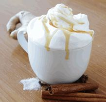 Salted Caramel Chai Latte Recipe:  Ingredients: 2-3 Tablespoons of David Rio Elephant Vanilla Chai....