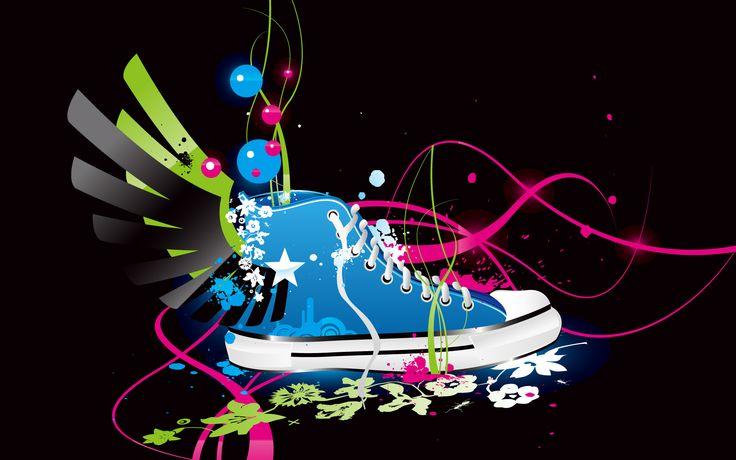 Colorful Desktop Backgrounds | Colorful Vector Shoe HD Wallpapers, Colorful Vector Shoe HD Download ...: Shoes, Abstract Wallpapers Colorful, Vector Shoe, Art, Shoe Hd, Shoe Wallpaper