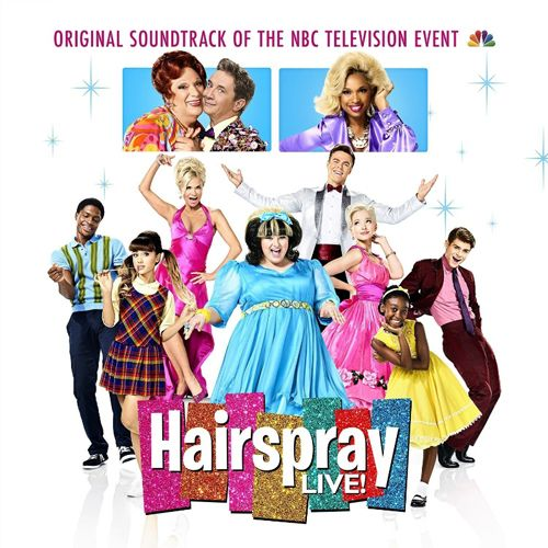 """Hairspray LIVE! Original Soundtrack Of The NBC Television Event, the companion album to NBC's broadcast of """"Hairspray Live!"""" is available December 2 via Masterworks Broadway/Epic Records (PRNewsFoto/Masterworks Broadway)"""