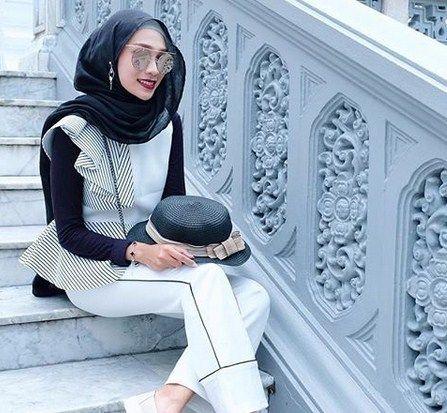 Bisa dijadikan gaya hijab saat travelling