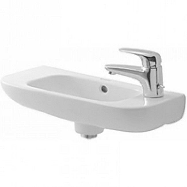 Duravit Alpin D-code Wall-Mount Porcelain 8.68 19.69 Bathroom Sink