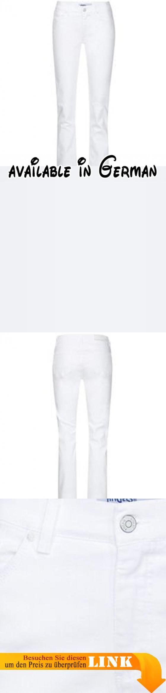 "Angels Damen Jeans ""Cici"" weiss (10) 36/30. Material: 85% Baumwolle, 13% Polyester, 2% Elasthan. Teile tierischen Ursprungs: Nein #Apparel #PANTS"