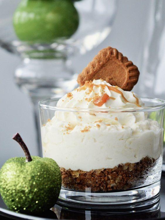 Rezept: Apfel-Karamell-Cheesecake zubereiten / recipe: apple-caramel-cheesecake via DaWanda.com