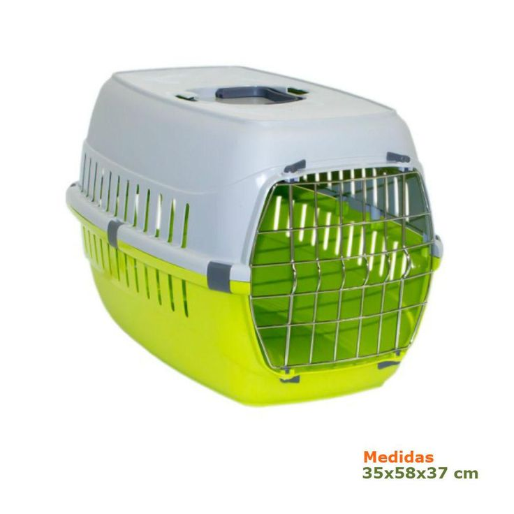 Transportín para perros o gatos Roadrunner Verde
