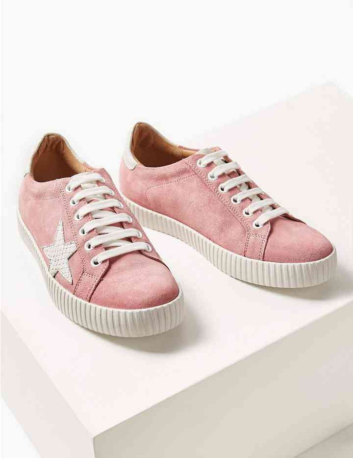 70643469a928 Wide Fit Leather Star Trainers | My Life: Knowing me... | Trainers ...