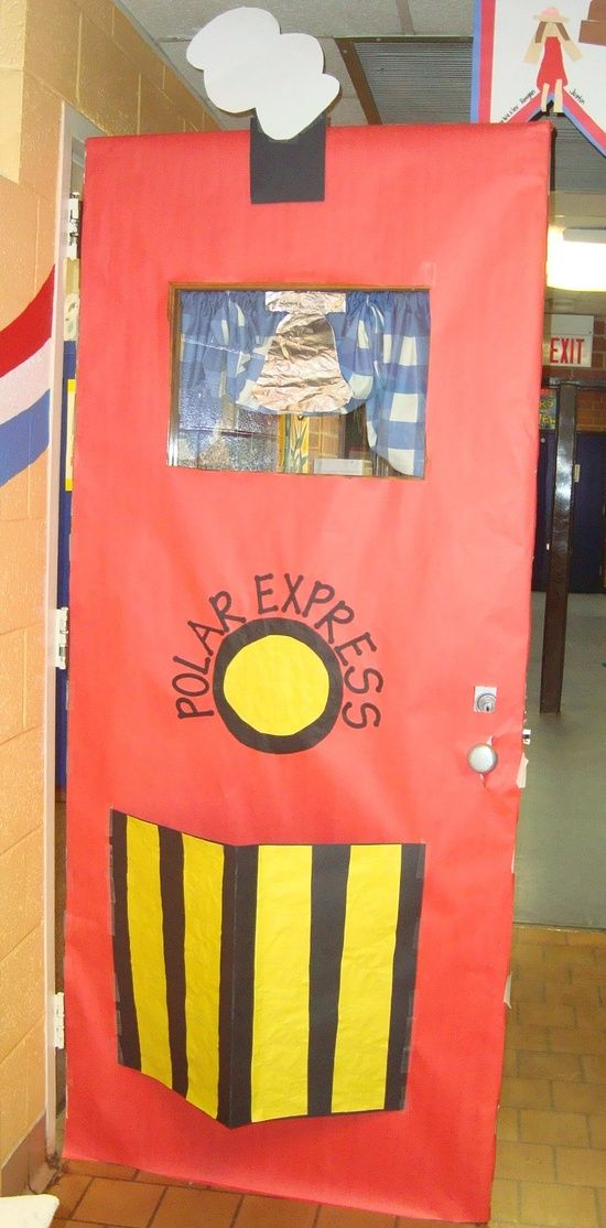 Polar Express Classroom Door idea
