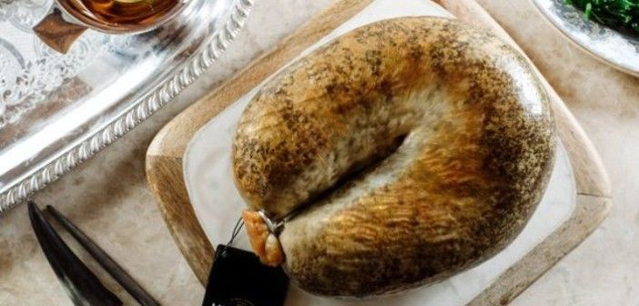 Would you pay £4000 for the world's costliest gold-topped haggis?