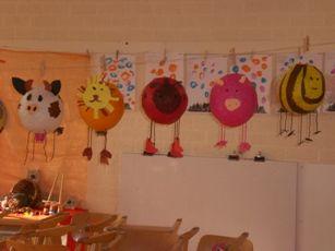 lampion dieren, ballon met papiermache