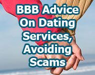 bbb advice on avoiding online dating scams
