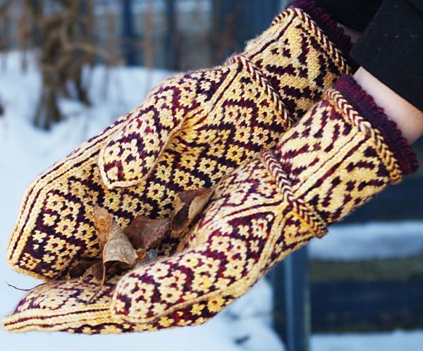 Warm-Hearted mittens : Deep Fall 2013