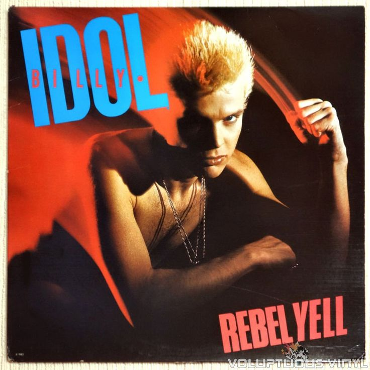 Second studio album from Billy Idol with the hit songs Rebel Yell and Eyes Without A Face.