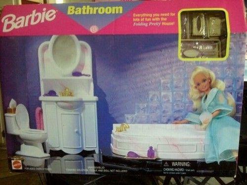 1996 Barbie Bathroom   OMG! So Many Memories!