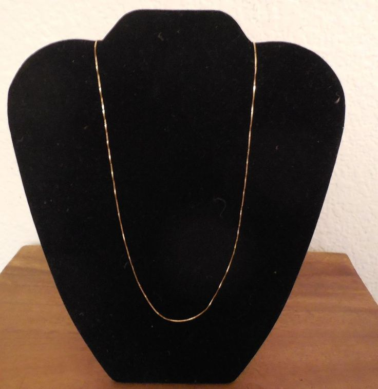Beautiful Simple Solid 14K Gold Chain Necklace 17.5 inch NEW  #Unbranded #Chain