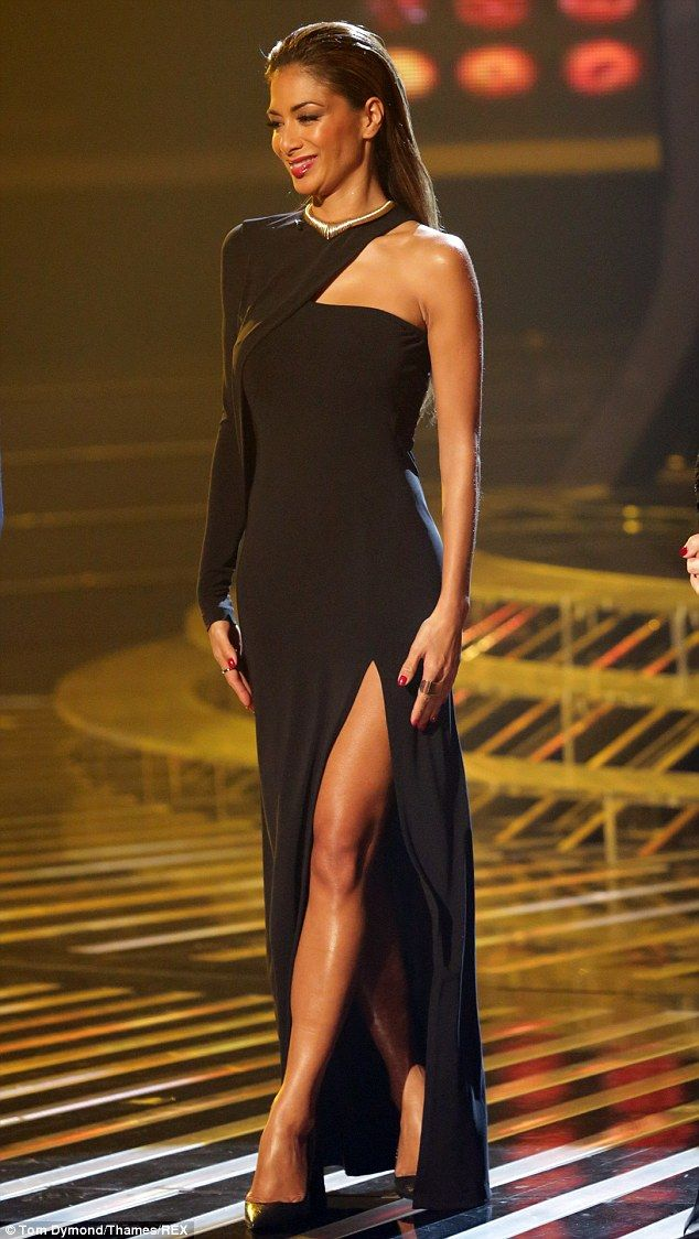 Nicole p black dress young