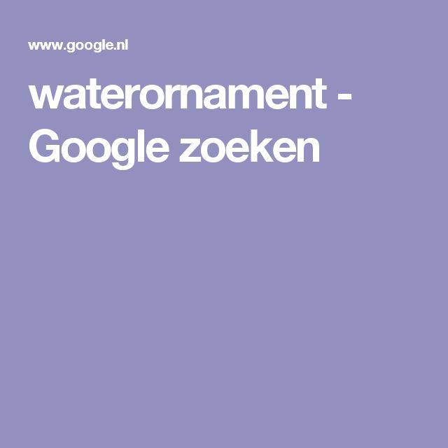 waterornament - Google zoeken