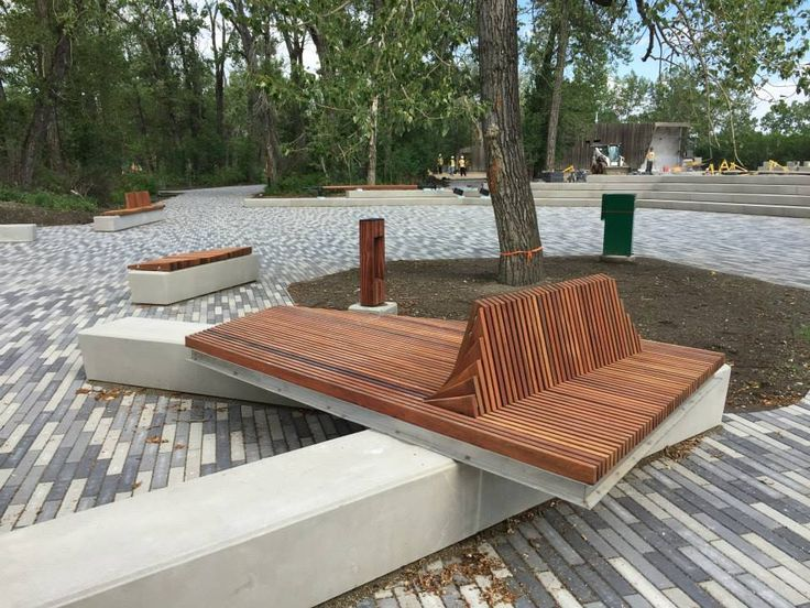 Urban Furniture in Canada >> www.shapedscape.com ~ Landscape Architecture  Matters