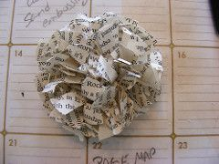 How to.. make a Paper Flower (from newspapers!) - Red Ted Art's Blog : Red Ted Art's Blog