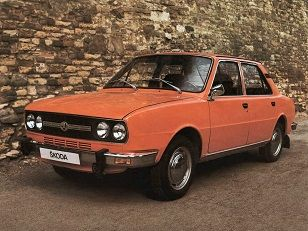 Skoda 105/120/125 (1976 – 1983).