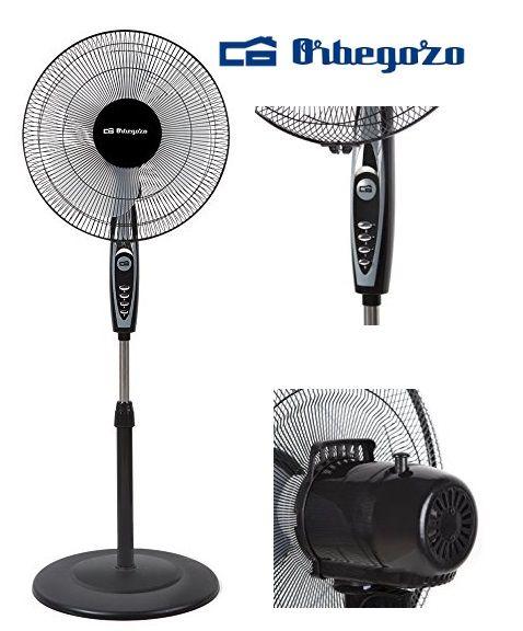¡Chollo! Ventilador de pie Orbegozo SF 0148 por 23.90 euros.