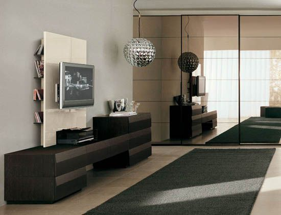 contemporary tv wall units and italian furniture design trends