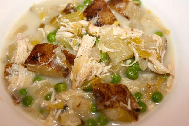 Slow Cooker Chicken Vegetable Stew