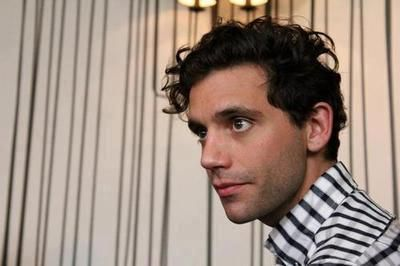 Mika at The Origin Of Love listening party for fans July 25 2012 Milan