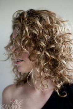 Hair Romance - how to get your curl back #howtogetcurlyhair