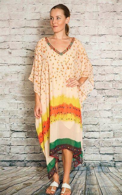 Stunning Beaded Kaftan  $79  one size  (rrp $149)