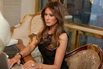 Meeting with Trump Trump, who had been previously married to Marla Maples and Ivana Zelnickova who he's had a total of 4 children with, crossed paths with Melania at a New York fashion party that was being held at the Kit Kat Club in Manhattan in 1998. The 28-year old would eventually become engaged to a man 24-years her senior in 2004. While at the Costume Institute Gala in New York, Trump popped the question and offered her a£2 million Graff engagement ring. Image Source: YouTube.com