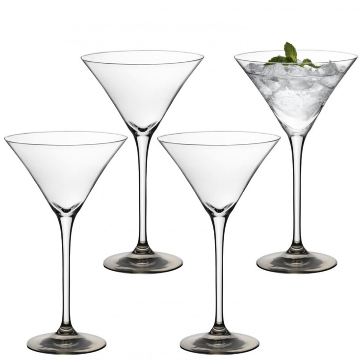Cocktail glasses silver