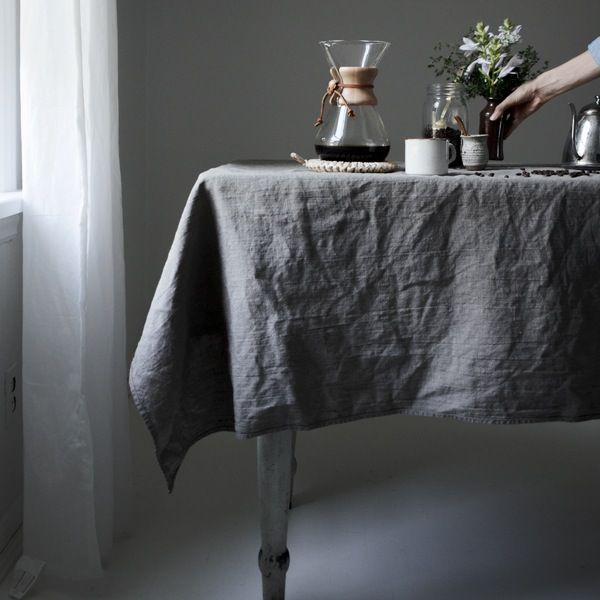 Best 25 Dining table cloth ideas on Pinterest  : d789454908d174e94ea3bfe48dee6c29 linen tablecloth table linens from www.pinterest.com size 600 x 600 jpeg 43kB