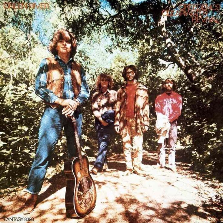On 24 January 1970, a breakthrough for Creedence Clearwater Revival, as they made their belated UK album chart debut with Green River.