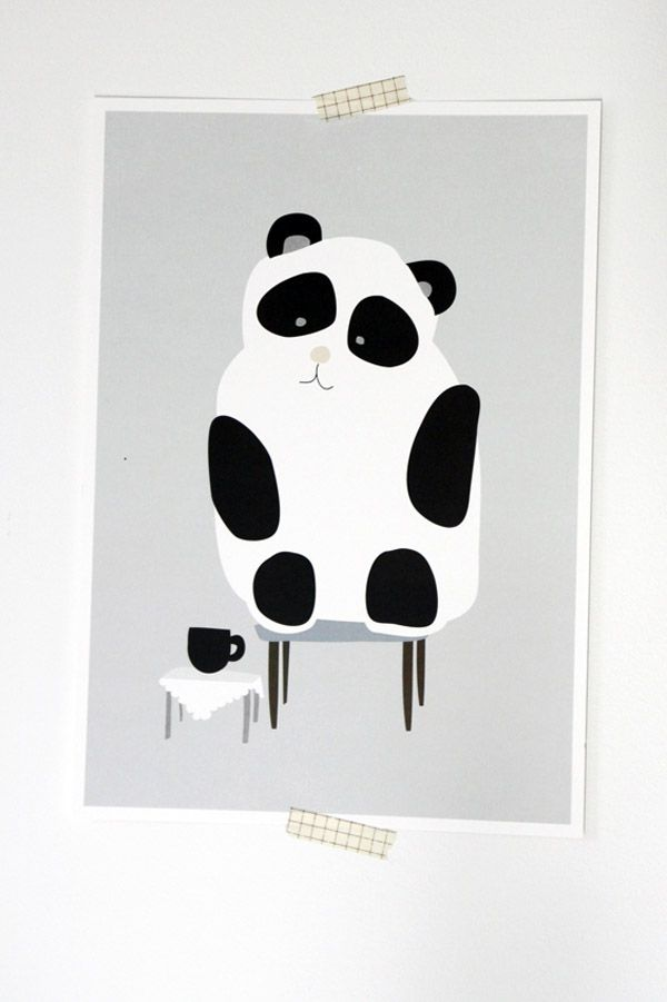 Pilkkuraita posters - Playful posters that will cheer up any boring child's room! The illustrations are printed with environmentally friendly ink.