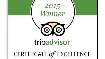 Νιώθουμε υπερήφανοι που φέτος το ξενοδοχείο μας τιμήθηκε με το βραβείο: TripAdvisor's Certificate of Excellence Award!!! Το βραβείο αυτό δίνεται στα ξενοδοχεία που συνεχόμενα λαμβάνουν εξαιρετικά σχόλια από τους πελάτες τους στην ιστοσελίδα της TripAdvisor. Σας ευχαριστούμε πολύ που επιλέξατε και φέτος το ξενοδοχείο μας για τη διαμονή σας στα Ιωάννινα. Η προτίμησή σας μας εμπνέει να θέσουμε ακόμα υψηλότερα τον πήχη για υπηρεσίες που υπερβαίνουν εκείνες των 3στερων ξενοδοχείων…